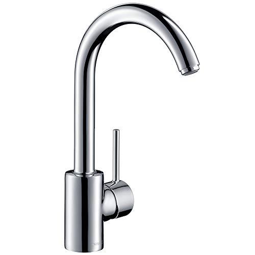 Hansgrohe Küchenarmatur Talis S² (Wasserhahn Küche, schwenkbar mit hohem Auslauf) chrom (Küchenarmatur Talis)