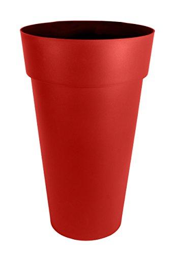 EDA Plastiques 13637 R.RU SX2 Toscane Vase 48 x 80 cm XXL