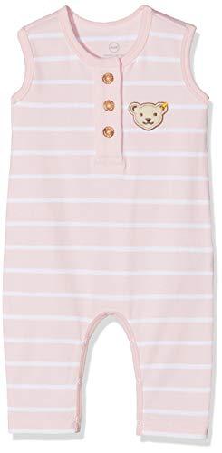Steiff Baby - Mädchen Strampler L001912527, Gr. 50, Rosa (Barely Pink 2560)