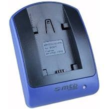Cargador (Micro-USB, sin cables/adaptadores) para Sony NP-FH50/FP-50/DSC-HX1, HX100V, HX200V/Alpha 330./HDR-TG1. ver lista!