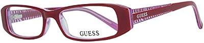 Guess Brille Gu2375 O92 51 Monturas de gafas, Rojo (Rot), 51.0 para Mujer