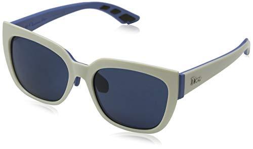 Dior Damen DIORDECALE2 KU BRK Sonnenbrille, Blau (Ivory Light Blue/Bluette Avio), 53