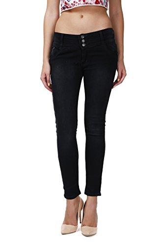 ahhaaaa-Black-slim-fit-denim-jeans-for-Women