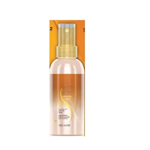 AVON Skin so Soft Enhance & Glow Körperöl Spray mit Schimmereffekt (Body Glitter Spray)