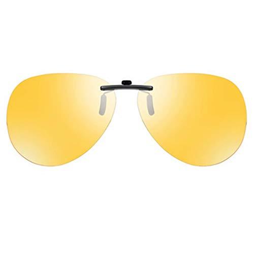 CXLYJ Polarisierte Brille Ultraleichte Gläser Myopia-Sonnenbrillenclips Geeignet für Männer und Frauen/Fahren/Reiten