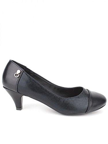Cendriyon, Escarpin noir LANVA Chaussures Femme Noir