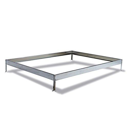 DEMA Metall - Fundament für Gewächshaus Basic 4,75 qm