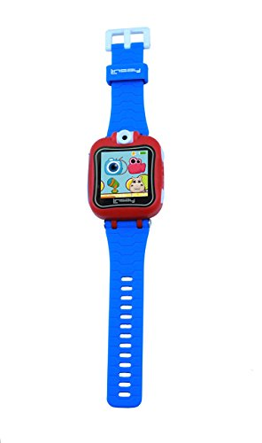 LINSAY NEW S-5WCLBLUE Smart Watch Kids with 90 Degree Selfie Camera Blue