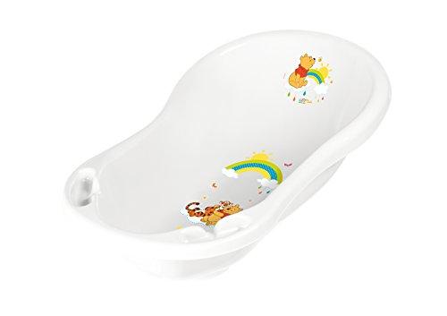 """keeeper 18423100084 jan """"winnie the pooh"""" babywanne 84 cm mit stöpsel weiß"""
