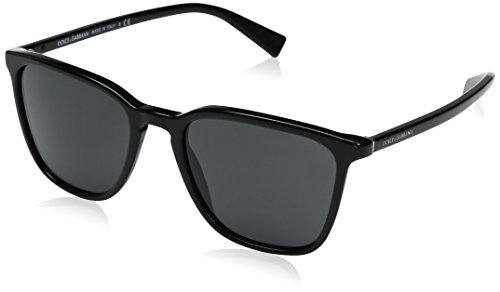 Dolce & Gabbana Herren 0DG4301 501/87 53 Sonnenbrille, Schwarz (Black/Gray),