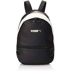 Puma Prime Classics Archive Backpack Mochila, Color Puma Black-Whisper White, tamaño Talla única