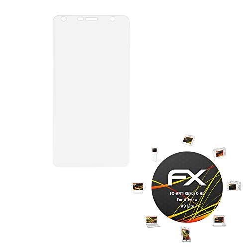 atFolix Schutzfolie kompatibel mit Allview A9 Lite Displayschutzfolie, HD-Entspiegelung FX Folie (3X)