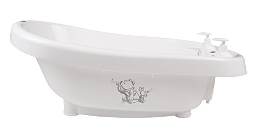 Bebe-jou Thermo baño con termómetro integrado tema whishing Pooh blanco