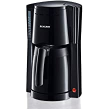 SEVERIN KA 4115 Cafetera para filtros de Café Molido, 8 tazas incluye jarra termo,