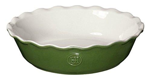 Emile Henry 626122 HR Ceramic Mini Pie Dish, Spring Emile Henry Pie Dish
