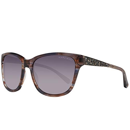 Guess Damen by Marciano Gm0723 Z07 57 Sonnenbrille, Mehrfarbig,