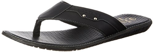 Red Tape Men's Leather Slippers Thong Sandals at amazon