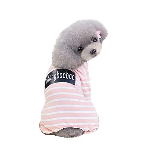 Hawkimin Hund mops Bekleidung Mode Einfache Pet Kostüme Frühling und Sommer Breathable New Striped Rock Princess Kleid