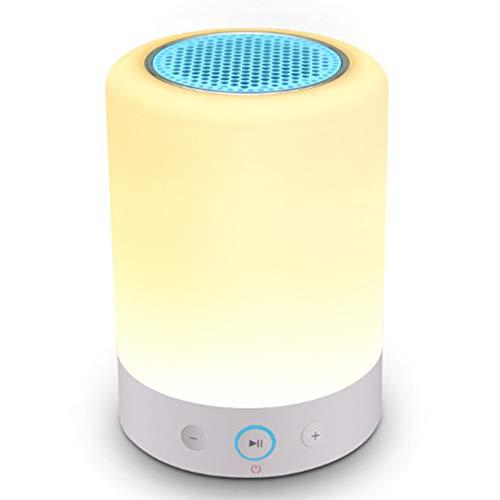 X_WH Moderne schreibtischlampe smart Wireless Bluetooth Audio kreative nachtlicht Touch Karte Schlafzimmer nachttischlampe Wh-audio