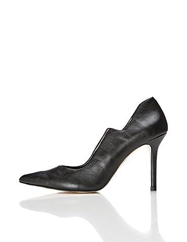 FIND Damen Pumps, Schwarz (Black), 38 EU (Schuh Pumps)