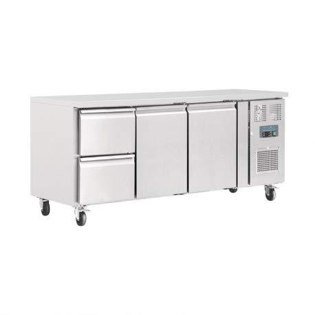 Polar 2tür und 2Schubladen Zähler Kühlschrank 417Liter Commercial Kühlschrank