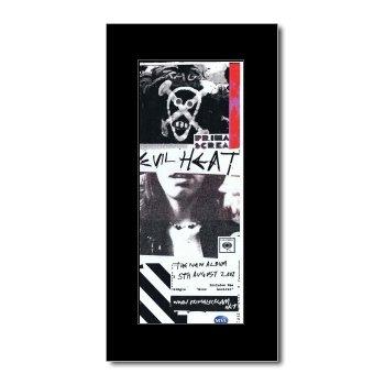 PRIMAL SCREAM - Evil Heat Matted Mini Poster - 28.5x10cm (Scream Primal Heat Evil)