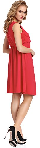 Merry Style Donna Abito Tess Rosso