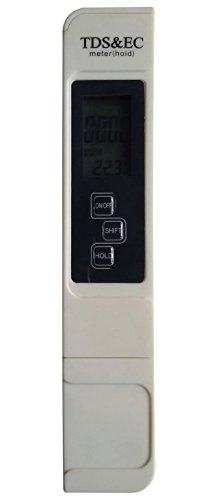 Preisvergleich Produktbild Realgoal Test Meter tds messgerät ec messgerät PPM TDS, EC und Temperatur Handheld Portable Tester 3-in-1 mit Ledertasche RO Umkehrosmose Pure Filter System