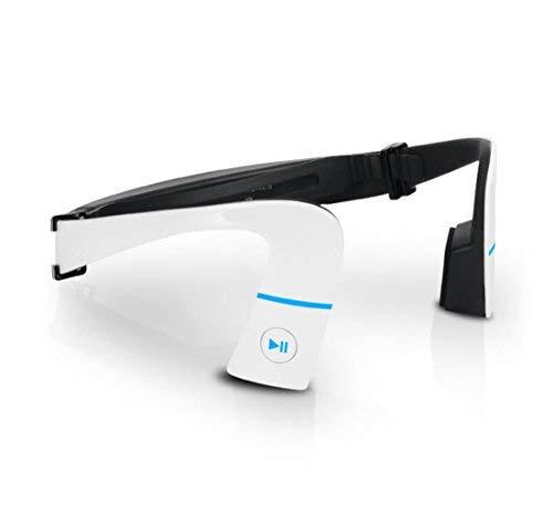 Sumeber Knochenleitung Kopfhörer Drahtlose Sport Bluetooth 4.1 Headset Lauf Hands-free-Kopfhörer mit NFC für iPhone und Android(Weiß) - 4