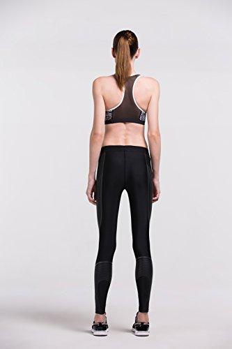 Fringoo - Legging de sport - Femme Stripes Black