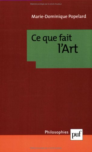 Ce que fait l'art