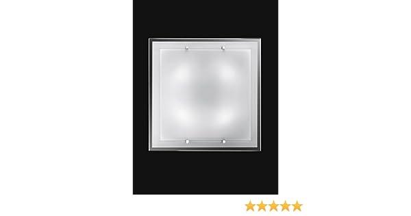 Plafoniera Quadrata 40x40 : Lampada plafoniera perenz da soffitto realizzata