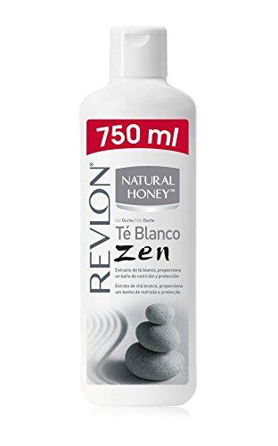 Revlon Natural Honey Gel de Baño con Extracto de Té Blanco - 0,75 l