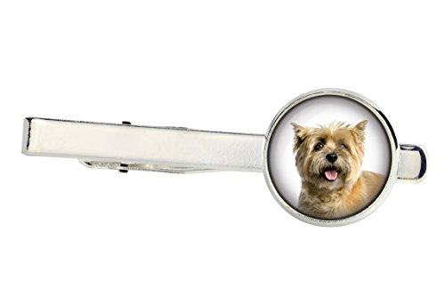 ArtDog Ltd. Cairn Terrier, Krawattennadeln für Hundeliebhaber, Foto-Schmuck, Schmuck für Männer -