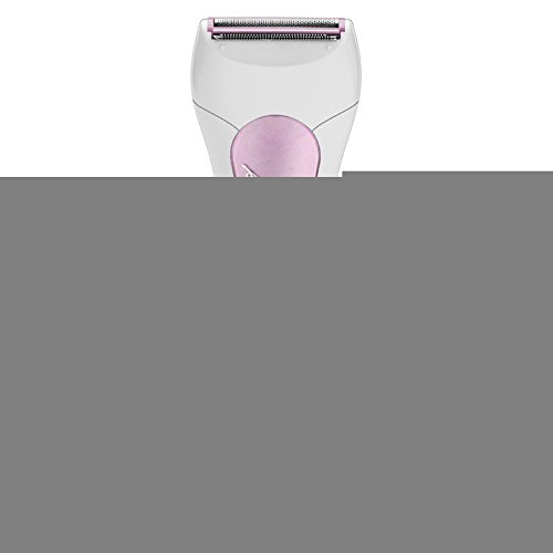 Tezam Electric Hair Removal Shaver for Women, 3-Blade Wet/ Dry Shavers for Ladies, Portable Rechargeable Shaving Epilator Razor Kit (pink)