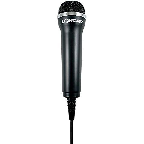 Micrófono para todos los juegos Wii y Wii U- compatible con Xbox360, PS2, PS3, PC