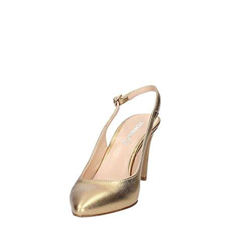 GRACE SHOES 659 Sandalo tacco Donna Platino