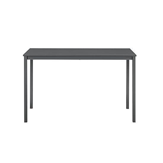 [en.casa] Esstisch mit 4 Kunstleder Stühlen