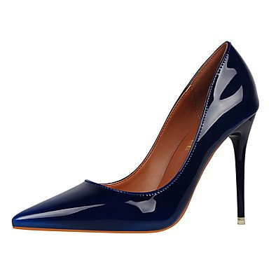 Moda Donna Sandali Sexy donna tacchi inverno abito Comfort Stiletto Heel altri nero / blu / verde / viola / rosso / cammello / a piedi Borgogna Burgundy
