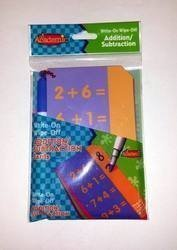 Its Academic - Write-on Wipe-off Educational Addition/subtraction