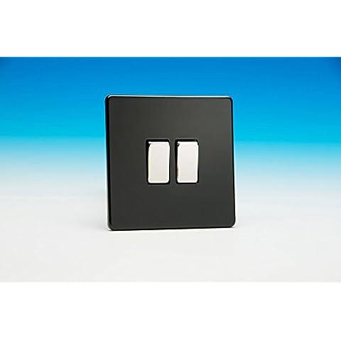 Varilight 10A a 2velocità da 1or 2way Rocker Switch light switch