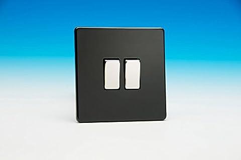 Varilight 2vitesses 10A Way Rocker Switch de 1or 2Light Switch