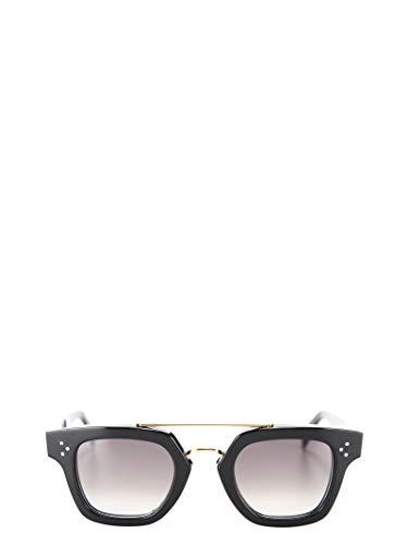 Céline Damen 40024Cplb38no Schwarz Acetat Sonnenbrille