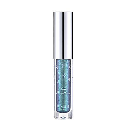 Metallic Liquid Lidschatten Glow Glitter Eyeliner Gel Langlebige Augenkosmetik YunYoud Wasserdichter und haltbarer Pailletten Glitzer Lidschatten