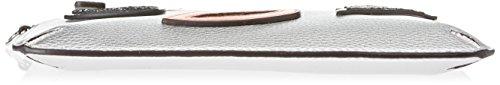 Guess Hobo, Borsetta da Polso Donna, Argento, 1.5x16x24 cm (W x H x L)