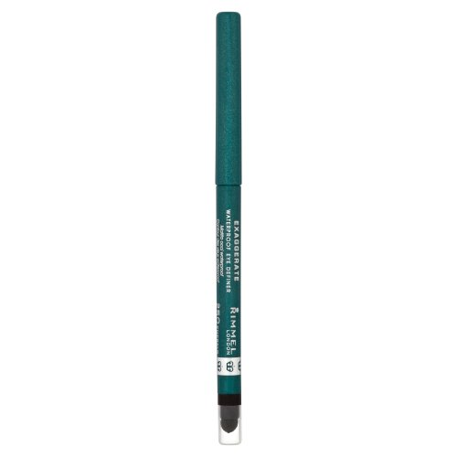 Rimmel London Exaggerate, Matita occhi waterproof, Emerald Sparkle - 0.28 g