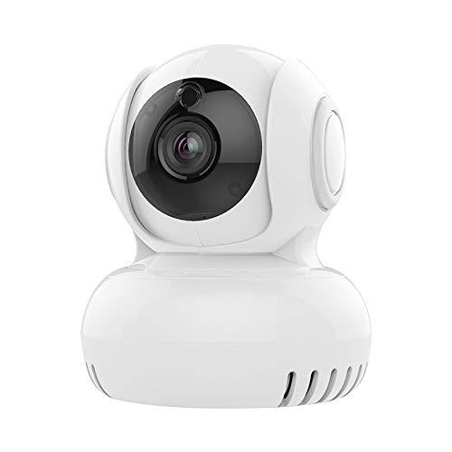 THINKMIC Intelligente Überwachung, Kamera, Zuhause, drahtloses WLAN, Mini, 360 ° -Sonde, Handy-Remote-Webcam für IOS, Android und Windows-Gerät -