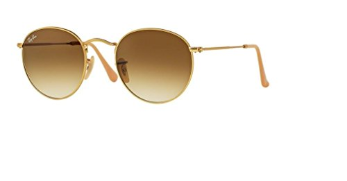 Ray Ban RB3447 112/51 50M Matte Gold/Clear Gradient Brown