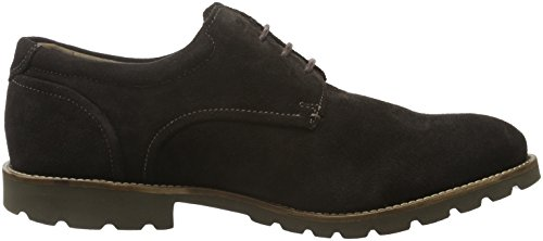 Rockport Herren Sharp & Ready Colben Derby Braun (DK CHOC SDE)
