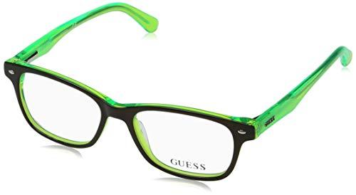 Guess Unisex-Erwachsene GU9172 095 48 Brillengestelle, Grün (Verde Chiaro),